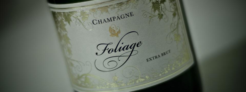 Imprimerie des Docks - Etiquette Champagne Foliage